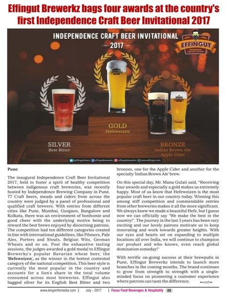 Focus Food Beverage And Hospitality Magazine