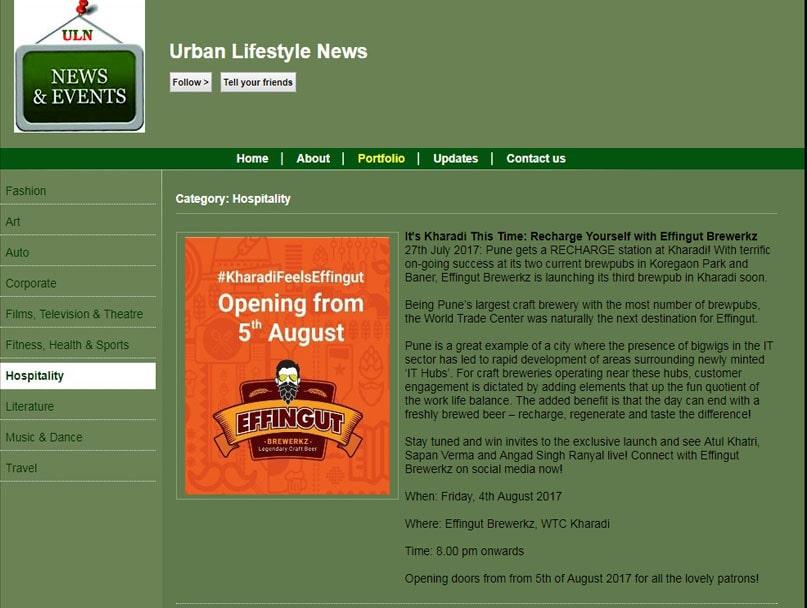 Urban Lifestyle News